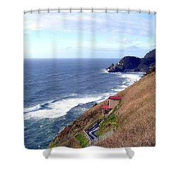 Sand And Sea 5 Shower Curtain by Will Borden