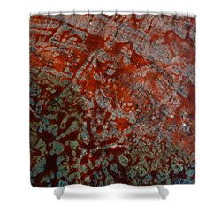 Sand And Sea II Shower Curtain