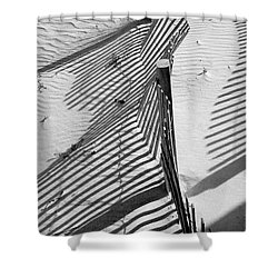 Sand And Sun Shower Curtain by Robert Meanor