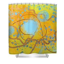 Sand And Water Shower Curtain