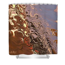 Sand Bank Shower Curtain