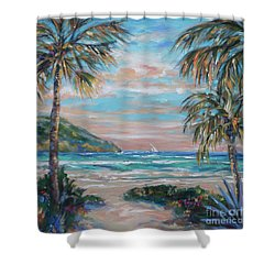 Sand Bank Bay Shower Curtain