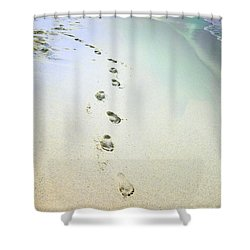 Sand Between My Toes Shower Curtain
