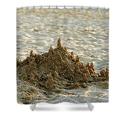 Sand Castle Shower Curtain
