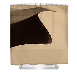 Sand Shower Curtain by Chad Dutson