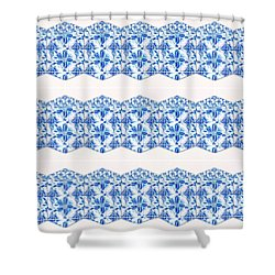 Sand Dollar Delight Pattern 4 Shower Curtain