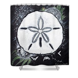 Sand Dollars Shower Curtain
