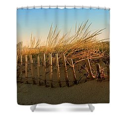 Sand Dune In Late September - Jersey Shore Shower Curtain