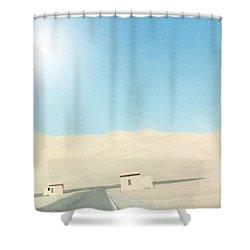 Sand Dune Surreal Shower Curtain