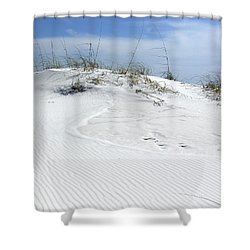 Shower Curtain featuring the photograph Sand Dunes Dream 2 by Marie Hicks