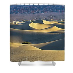 Sand Dunes Sunrise Shower Curtain