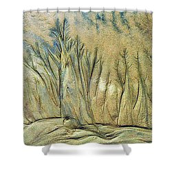 Sand Forest Shower Curtain