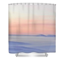 Sand Painting Shower Curtain