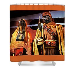 Sand People Shower Curtain