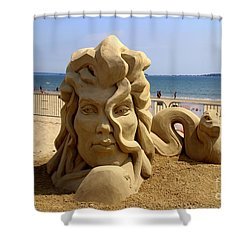 Sand Sculpture Shower Curtain