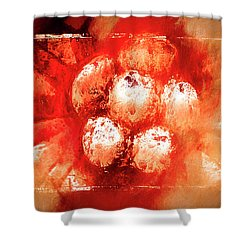 Shower Curtain featuring the digital art Sand Storm by Carolyn Marshall