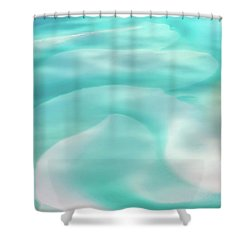 Shower Curtain featuring the photograph Sand Swirls by Az Jackson