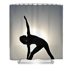 Sand Yoga Shower Curtain