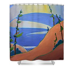 Sandbanks Shower Curtain