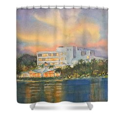 Sandcastle Retreat  Shower Curtain