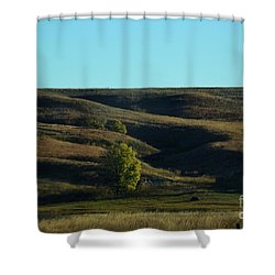 Shower Curtain featuring the photograph Sandhills Hills by Mark McReynolds