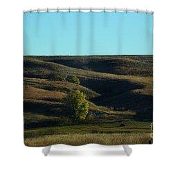 Sandhills Hills Shower Curtain