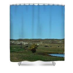 Sandhills Ranch Shower Curtain
