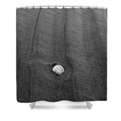 Shower Curtain featuring the photograph Sandlines by Jouko Lehto