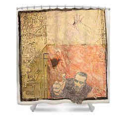 Sandpoint Shower Curtain