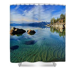 Sands Of Time 2 Shower Curtain by Sean Sarsfield