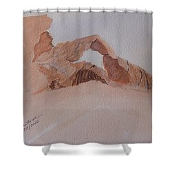 Sandstone Arch - Valley Of Fire  Shower Curtain