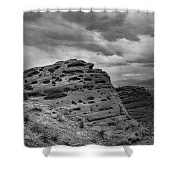 Sandstone Butte Shower Curtain