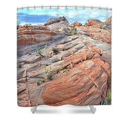 Sandstone Crest In Valley Of Fire Shower Curtain