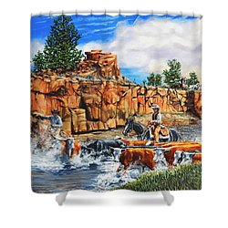 Sandstone Crossing Shower Curtain