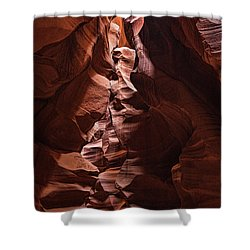 Sandstone Curves Shower Curtain