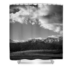 Sandwich Marsh Shower Curtain
