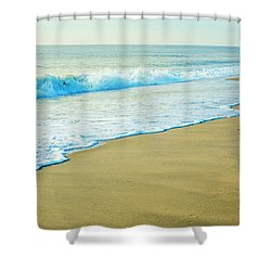 Sandy Hook Beach, New Jersey, Usa Shower Curtain