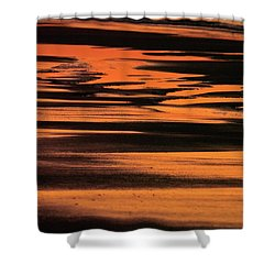 Sandy Reflection Shower Curtain