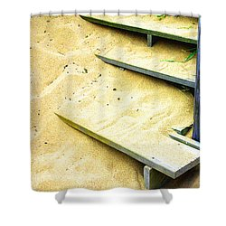 Sandy  Steps Shower Curtain