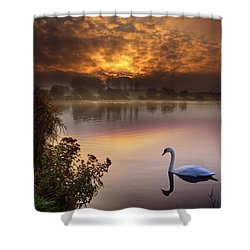 Sandy Water Park 2 Shower Curtain