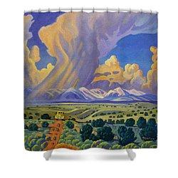 Sangr De Christo Passage Shower Curtain