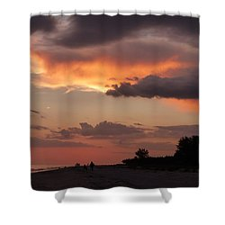 Sanibel At Dusk Shower Curtain