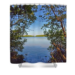 Sanibel Bay View Shower Curtain