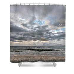 Sanibel Island Seashells Shower Curtain
