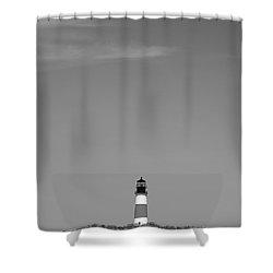 Sankaty Head Lighthouse Nantucket Shower Curtain