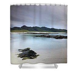 Shower Curtain featuring the photograph Sanna Bay by Grant Glendinning