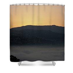 Sannin Sunrise Shower Curtain