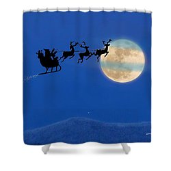 Santa 1 Shower Curtain