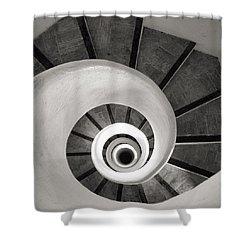 Santa Catalina Spiral Staircase Shower Curtain