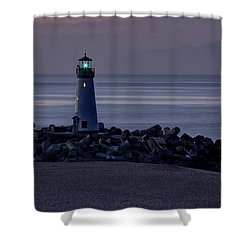 Walton Lighthouse Early Morning Shower Curtain